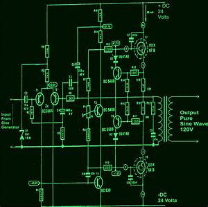 How To Build A100 Watt  Pure Sine Wave Inverter Circuit
