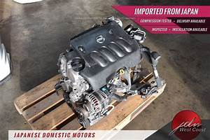 Nissan Sentra Mr20de Engine 2007
