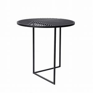 Beistelltisch Schwarz Rund : petite friture iso a beistelltisch rund schwarz schwarz ~ Michelbontemps.com Haus und Dekorationen