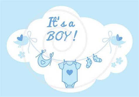 New Baby Clip Art, It's A Girl, It's A Boy, Blue And Pink