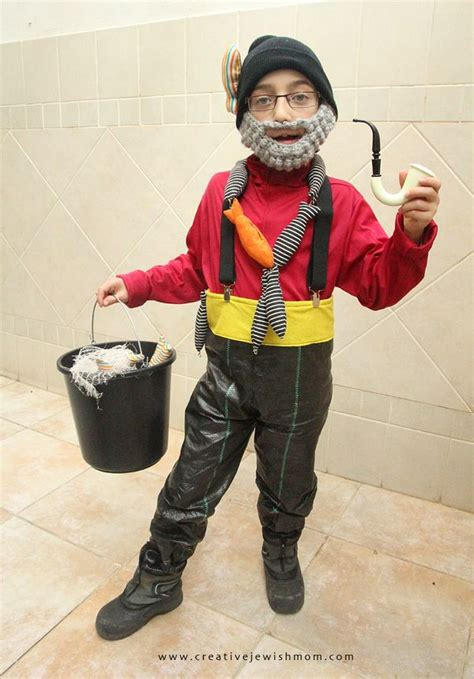 fisherman costume     creativity