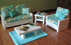 Unavailable listing on etsy for 18 inch doll living room furniture