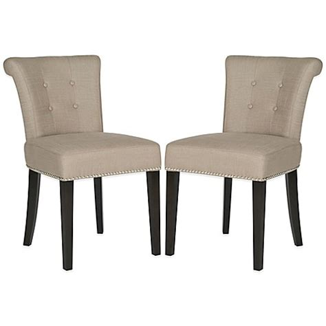 safavieh sinclair ring chair safavieh sinclair ring chairs in beige set of 2 bed