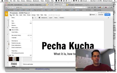 pecha kucha powerpoint template how to create a pecha kucha presentation with drive presentations