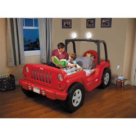 kids red jeep jeep bed red ebay