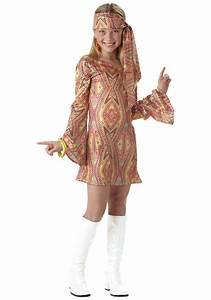 Girls 70's Disco Costume - 70s Disco Dance Costumes