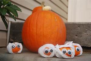 House, Of, Paint, Mini, Mummy, Pumpkins