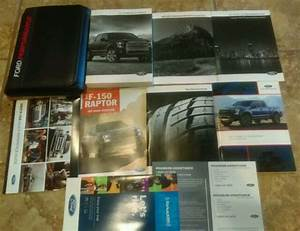 2017 Ford Raptor F150 Owners Manual Set Guide 17   Case