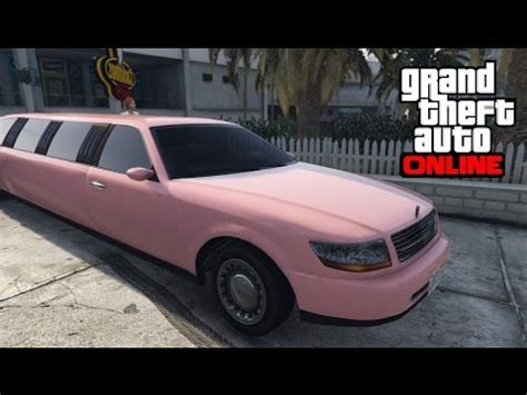 Get A Limo by Gta 5 How To Get A Pink Stretch Limo