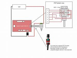 12v - Connecting Potentiometer With On  Off Switch To Audio Board