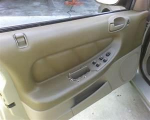 2002 Dodge Stratus Bezel Around Window  Door Locks Cracked