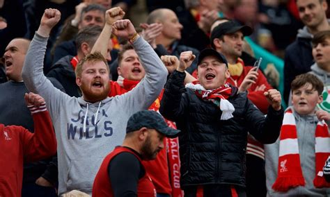'Allez, Allez, Allez' - Reds fans embrace new terrace ...