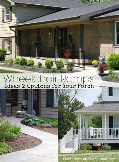 wheelchair ramp design specs    accessible porch