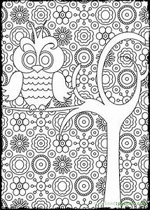 Owl Coloring Pages For Adults Bestofcoloringcom