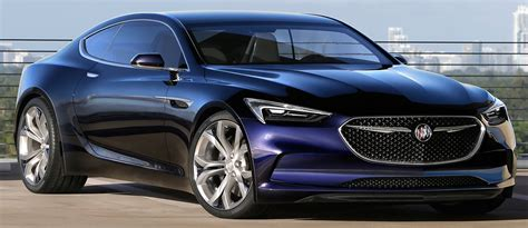 2015 Buick Coupe by Buick Avista Concept Hints At Future V6 Rwd Coupe Image