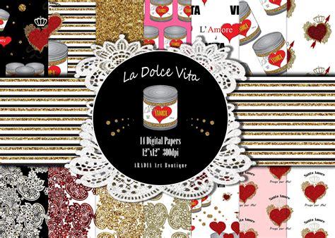 Valentine Patterns Glitter Lace Heart Digital Paper Etsy