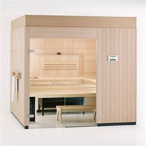 Sauna Mit Glasfront : sauna lounge schick stilvoll und individuell ~ Whattoseeinmadrid.com Haus und Dekorationen