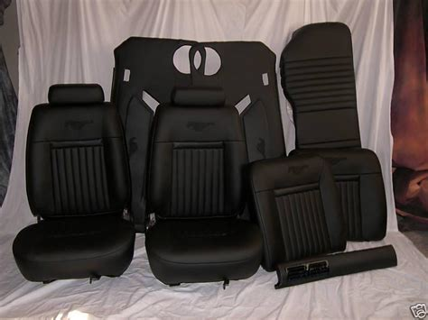 purchase   ford mustang seats upholstery kit interior