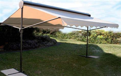 store parasol pente professionnel parasol professionnel 224 2 pans pour terasse de restaurant et bar