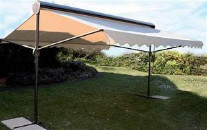 Parasol De Terrasse : parasol professionnel 2 pans pour terasse de restaurant et bar ~ Teatrodelosmanantiales.com Idées de Décoration