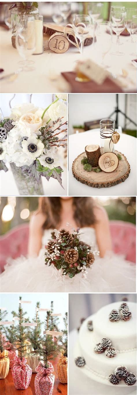 idees deco  mariage en hiver deco mariage hivernal