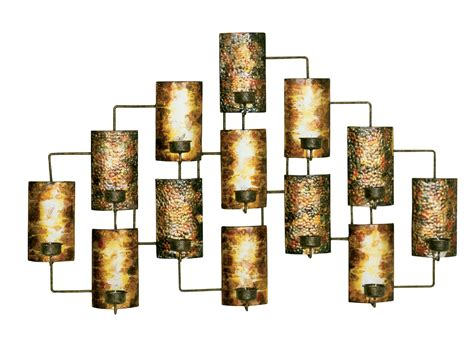 metal wall accents metal wall decor in aged gold in metallic wall 4099