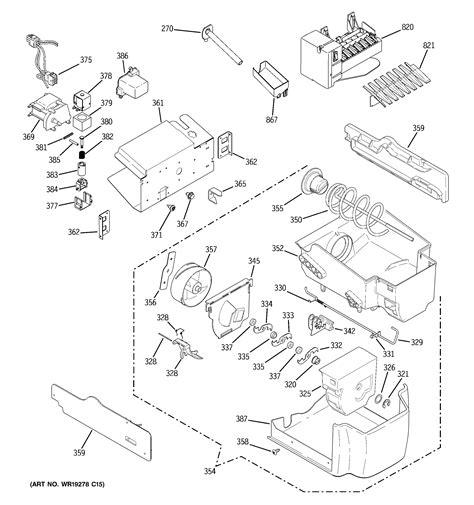 ge refrigerator water  diagram drivenhelios