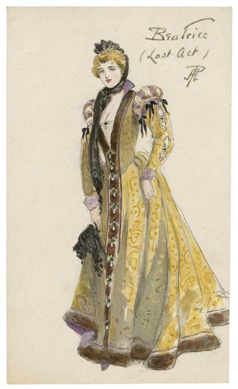 percy anderson costume design illustration costume