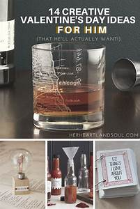 14 Creative Valentine's Day Gift Ideas for Him - Her ...