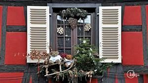 Fenster Weihnachtlich Gestalten : frankreich kaysersberg kunst weihnachts dekoration am ~ Lizthompson.info Haus und Dekorationen