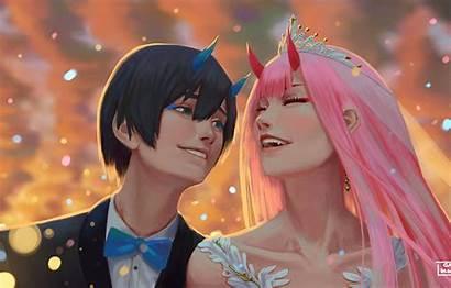 Hiro Darling Zero Franxx Wallpapers Desktop Anime