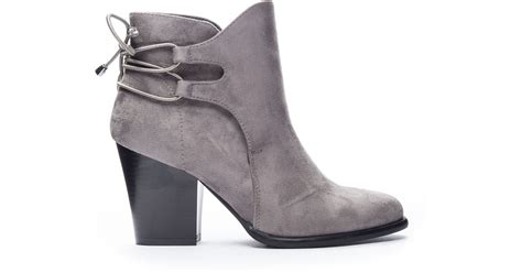 Dirty Laundry Wing It Ankle Bootie In Gray