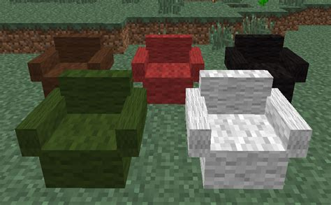 canapé minecraft 1 5 2 mrcrayfish s furniture mod