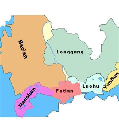 Shenzhen Maps, Maps Of Port, Subway, City Of Shenzhen