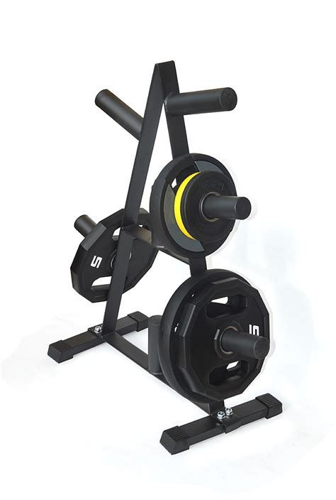 olympic weight plate storage rack kg capacity sports fitness benches racks