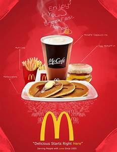 McDonalds poster ad | Franquias