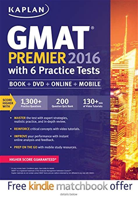 ^^read Online Kaplan Gmat Premier 2016 With 6 Practice Tests Book + Online + Dvd + Mobile