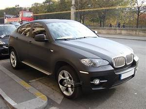 Bmw X6 Noir : le noir mat lui va si bien blog automobile ~ Gottalentnigeria.com Avis de Voitures