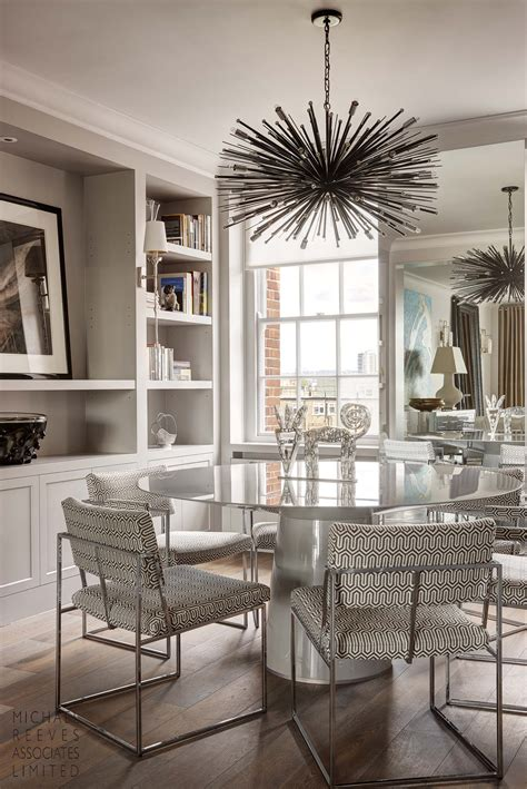 Interior Modern Contemporary Dining Room Chandeliers For