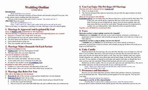 ideas simple christian wedding ceremony script wedding With fun wedding ceremony script