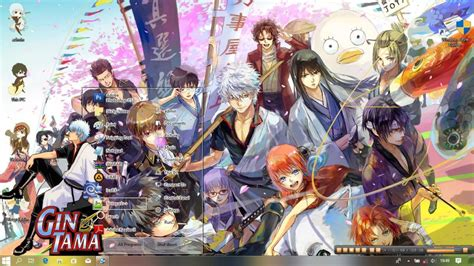 gintama anime theme  windows  animekayo anime