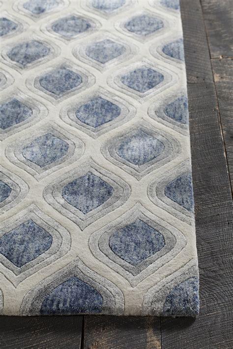 blue grey area rug clara collection tufted area rug in blue grey