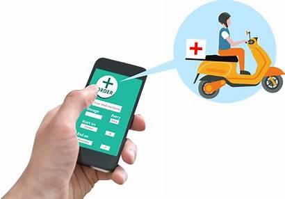 Medicine Delivery Doorstep App Development Mobile Banner