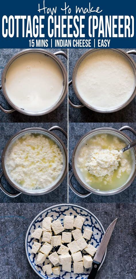 homemade paneer cottage cheese   minutes