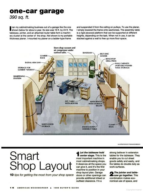 woodworking garage layout woodworking projects plans