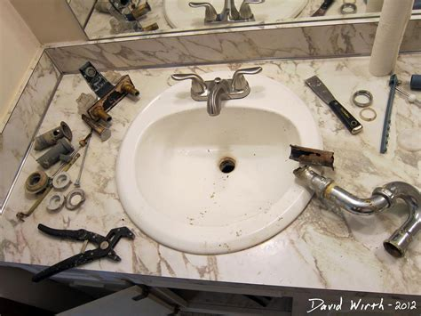 Replace Bathroom Sink Faucet by Bathroom Sink How To Install A Faucet