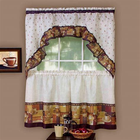 Swag Kitchen Curtains Set : Swag Kitchen Curtains Ideas