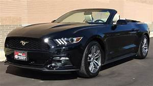 2015 Ford Mustang EcoBoost Premium Convertible - 2.3L EcoBoost, Heated & Cooled Leather Seats ...