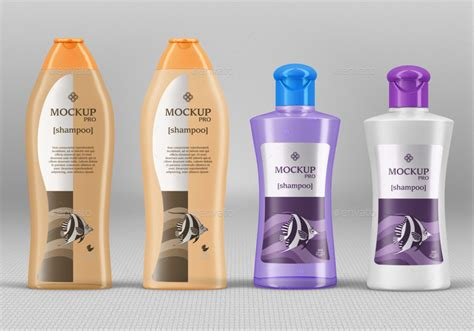 10 Shampoo Bottle Mockups By Fusionhorn