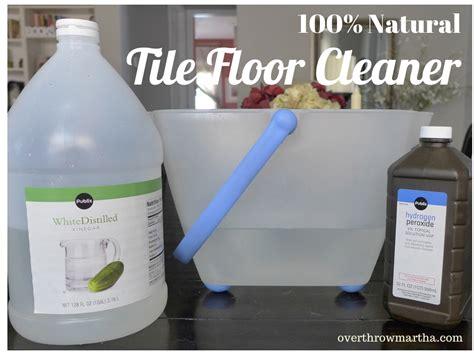 natural safe tile floor cleaner   ingredients